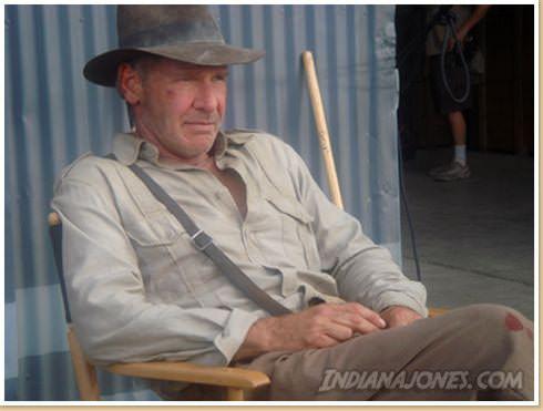 Harrison Ford ist Indiana Jones