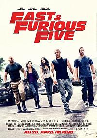 Fast & Furious Five - seit 28.04.2011 im Kino