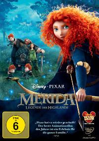 """""""Merida - Legende der Highlands"""" : DVD-Packshot"""