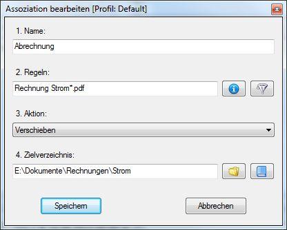 Suche nach einem bestimmten Dateinamen und verschiebe die Datei in den richtigen Ordner - Selbst sortieren war gestern!