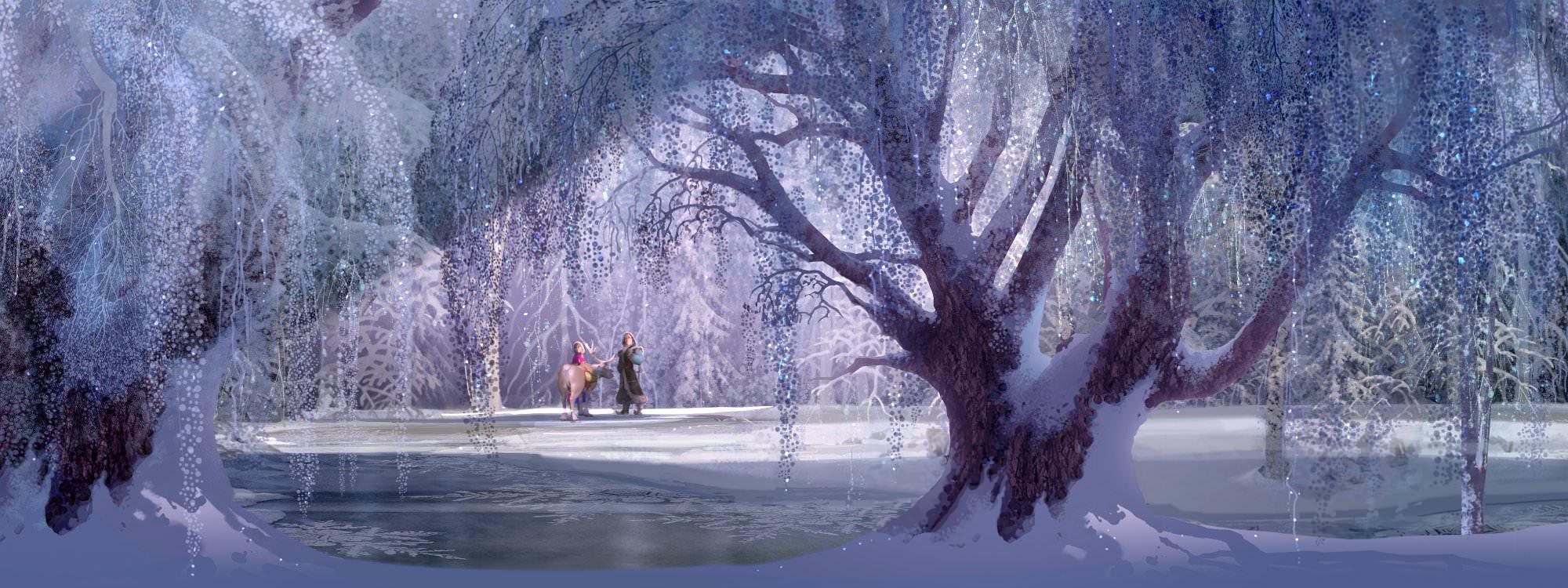 Welch wunderschöne Landschaft es auch im Winter geben kann. © Walt Disney Home Entertainment