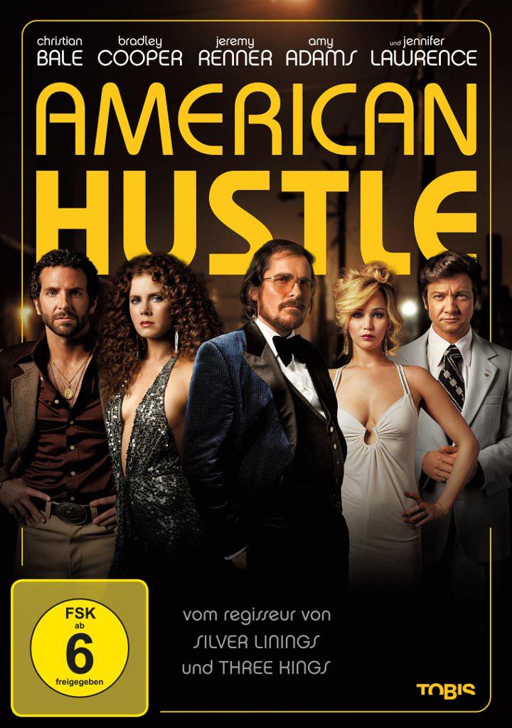 American Hustle Kinostart: 13.02.2014 DVD-/BluRay-Start: 14.07.2014 FSK: 6