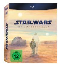 Star Wars: The Complete Saga I-VI: Star Wars Episode 1-6, 9 BluRays