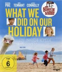 "Filmposter/BluRay-Cover ""What We Did On Our Holiday"" (dt. Ein Schotte macht noch keinen Sommer)"