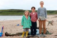 Die drei Kinder sind nicht auf den Mund gefallen - mit allen Konsequenzen. Bild: Tobis