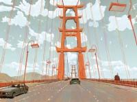 Die Stadt im Film, San Fransokyo, hat eindeutige Vorbilder. Die Ähnlichkeit mit der Golden Gate Bridge ist nicht abzuweisen.