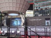Der Bühnenaubau, über den jeder Star lief.