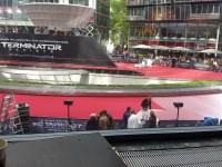 Ein Überblick über den gesamten Potsdamer Platz zur Premiere.