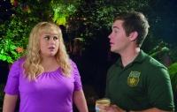 Fat Amy (Rebel Wilson) und Bumper (Adam DeVine) fühlen sich mehr angezogen als sie denken.