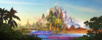 So sah die Stadt aus, bevor Zootropolis animiert wurde: Das ConceptArt.