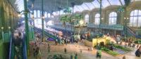 Je länger man sich das Bild anschaut, desto mehr Details findet man. Der Bahnhof von Zootopia.