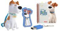Hund Max als Rucksack, als USB-Stick und als Notizbuch