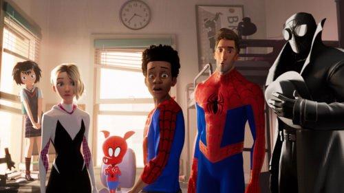 Alle Spider-Men (und -Women) in einem Bild - Dimensionsriss sei Dank