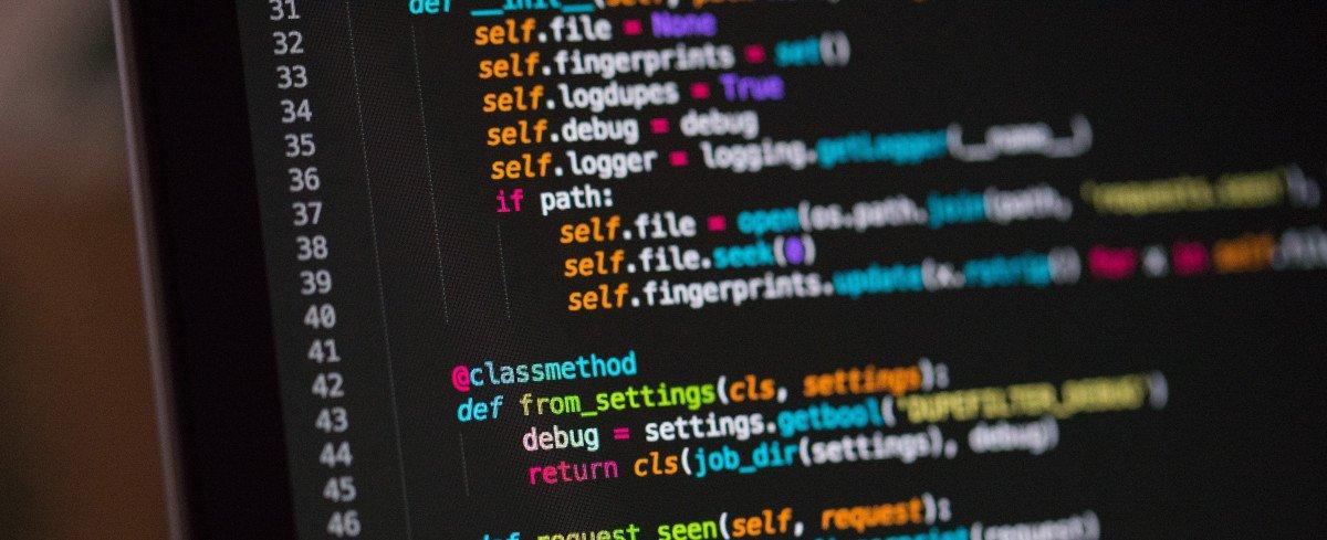 Screenshot eines Codes