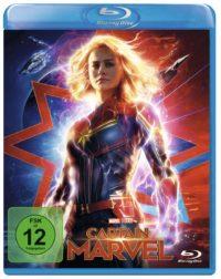"""Packshot Blu-Ray """"Captain Marvel"""""""