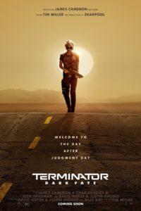 Teaserplakat Terminator - Dark Fate