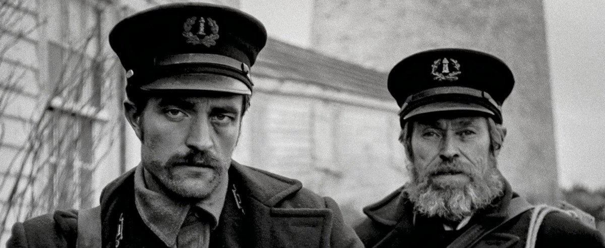 Robert Pattinson und Willem Dafoe in Der Leuchtturm
